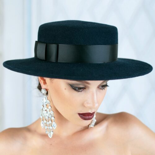 322-1 Фетровая женская шляпа Хелен Лайн