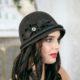 325-1 Фетровая женская шляпа Хелен Лайн