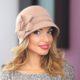 218-1Женская фетровая шляпа Хелен Лайн