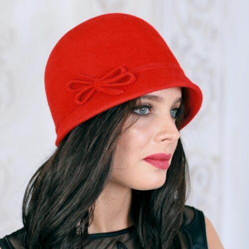218-3 Женская фетровая шляпа Хелен Лайн