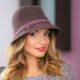 260-2 Женская фетровая шляпа Хелен Лайн