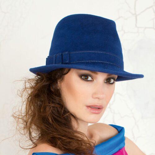 282-1 Женская фетровая шляпа Хелен Лайн