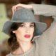 W300-1 Фетровая женская шляпа Хелен Лайн