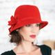 301-3 Женская фетровая шляпа Хелен Лайн