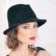 302-1 Женская фетровая шляпа Хелен Лайн
