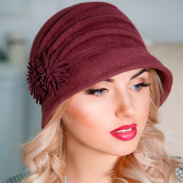 310  Женская фетровая шляпа Оливия