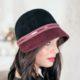 324-1 Фетровая женская шляпа Хелен Лайн
