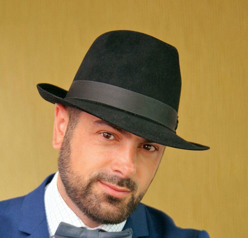 341-1 Мужская фетровая шляпа Хелен Лайн