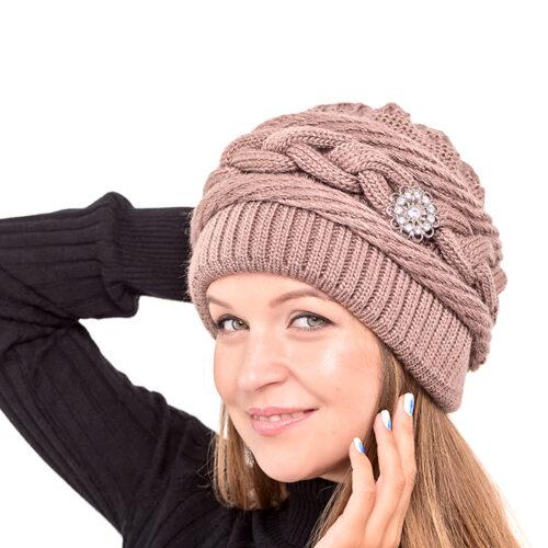 вязаная шапка Лирус