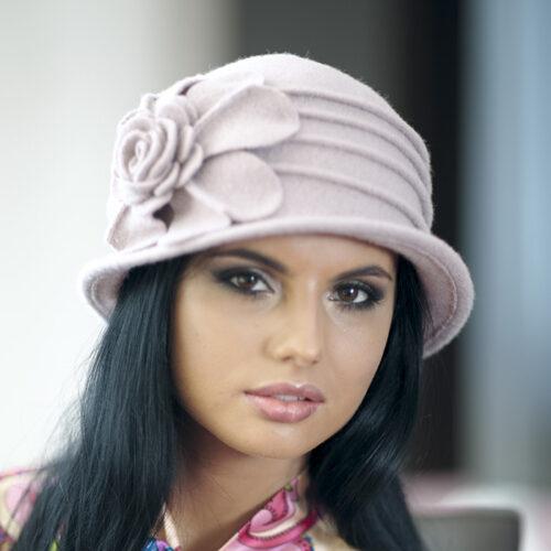 шляпка из валяной шерсти Хелен Лайн