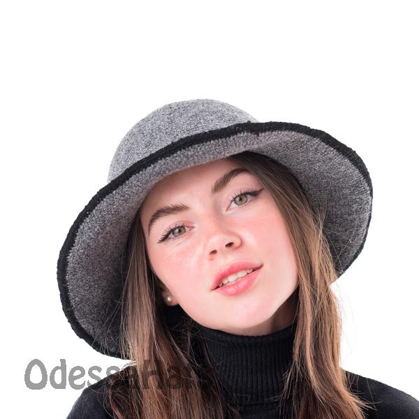 вязаная женская шляпа