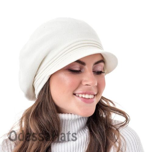 женский берет-кепка W-Luxury