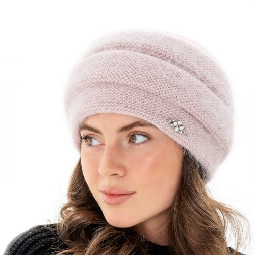 шапка женская из ангоры