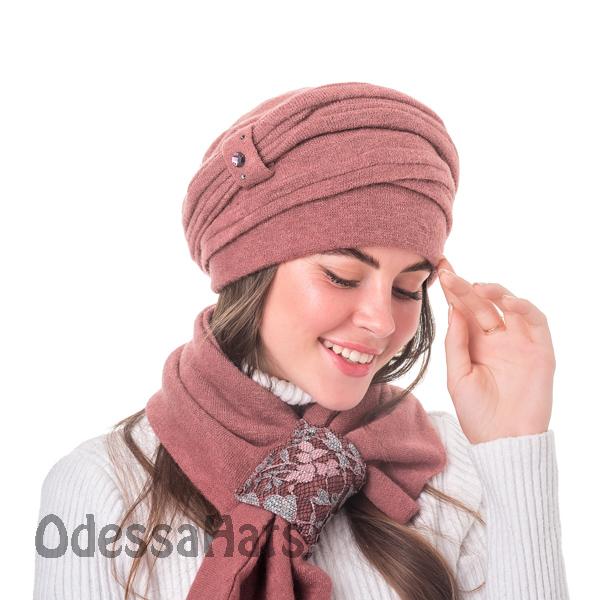 женская шапка Полана