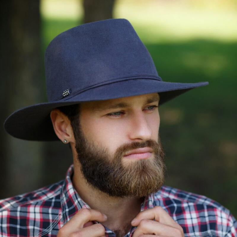 Мужская фетровая шляпа Оливия