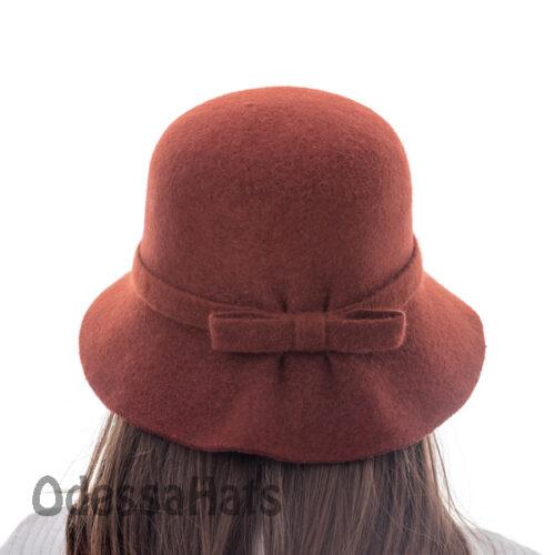шляпа из валяной шерсти