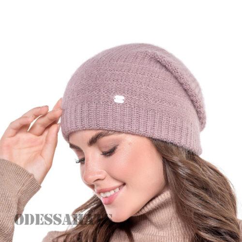 женская шапка из ангоры тм Рэдстайл