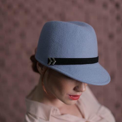 Фетрові жіночі кепі