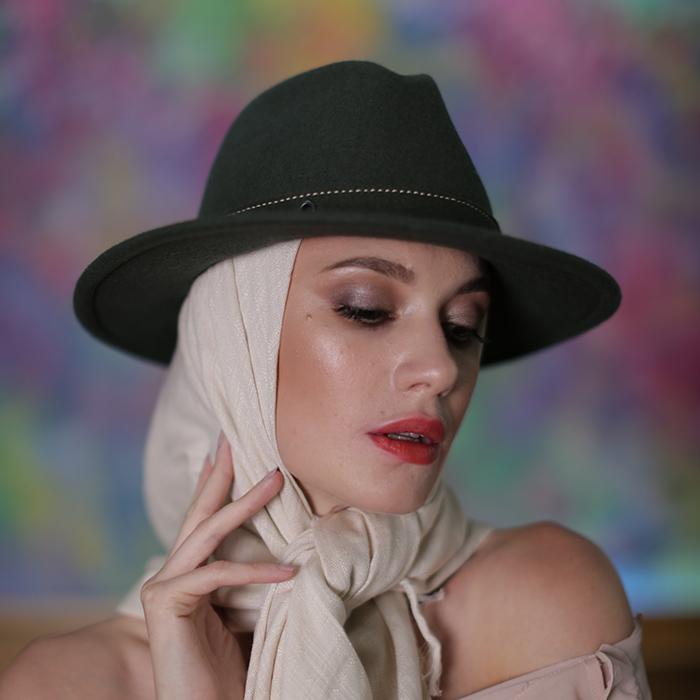фетровий капелюх Хелен Лайн