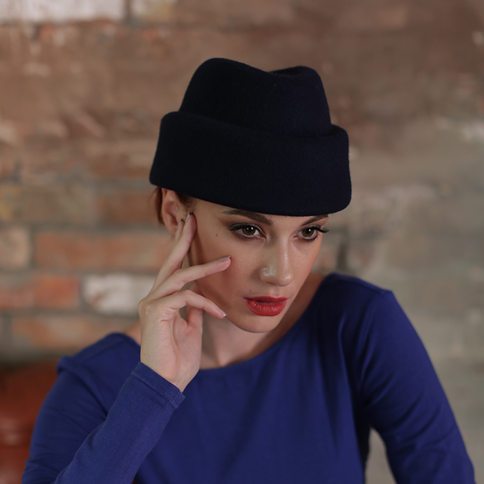 женский фетровый берет Хелен Лайн