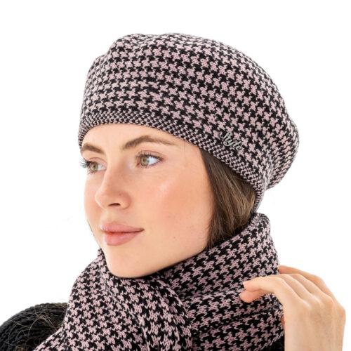 Комплект берет з шарфом