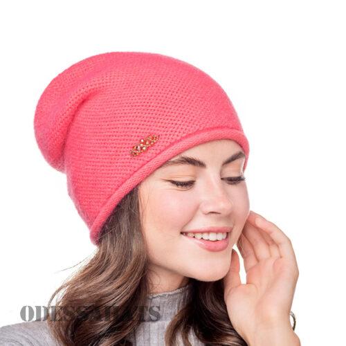 женская шапка из ангоры т.м. Fans Caps