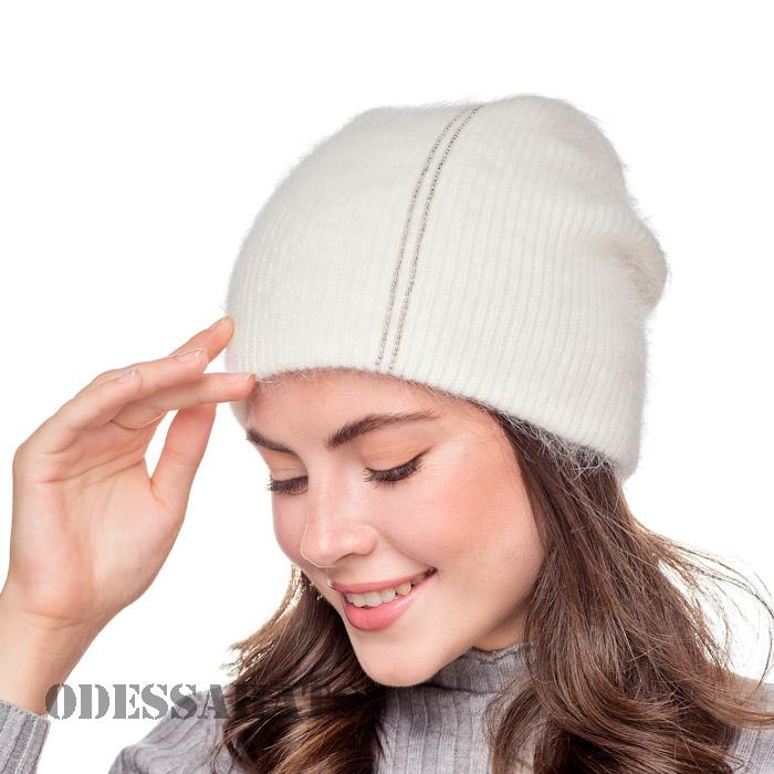 женская шапка из ангоры т.м. Yuan Meng