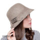 Женская шляпа из валяной шерсти