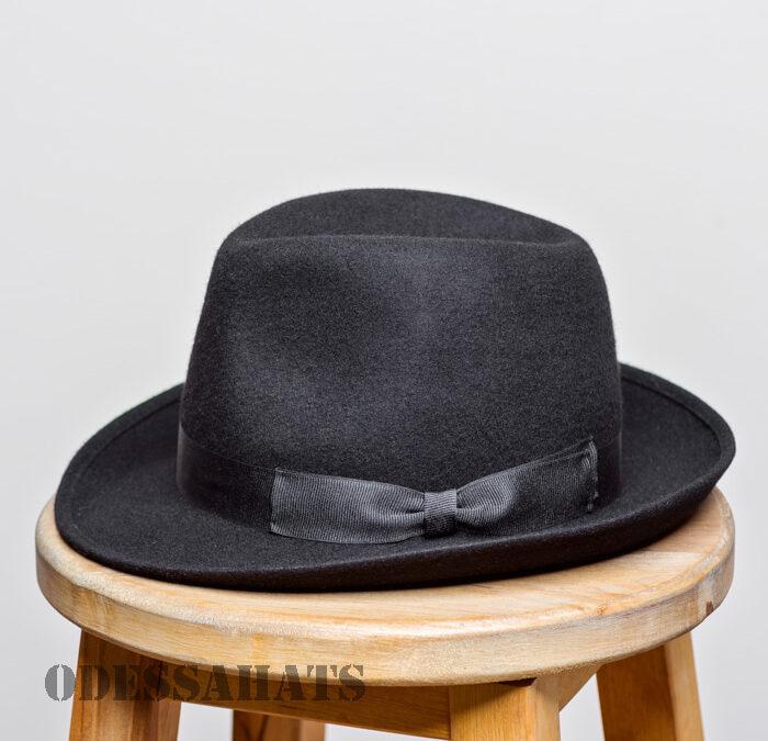 мужская фетровая шляпа