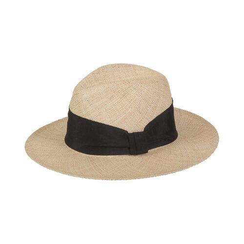 летняя шляпа из натуральной соломки
