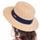 Шляпа из натуральной соломки