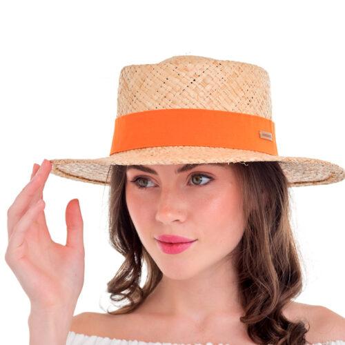 Літній капелюх з рафії