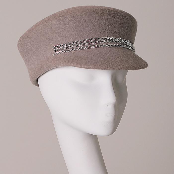 женская фетровая кепи