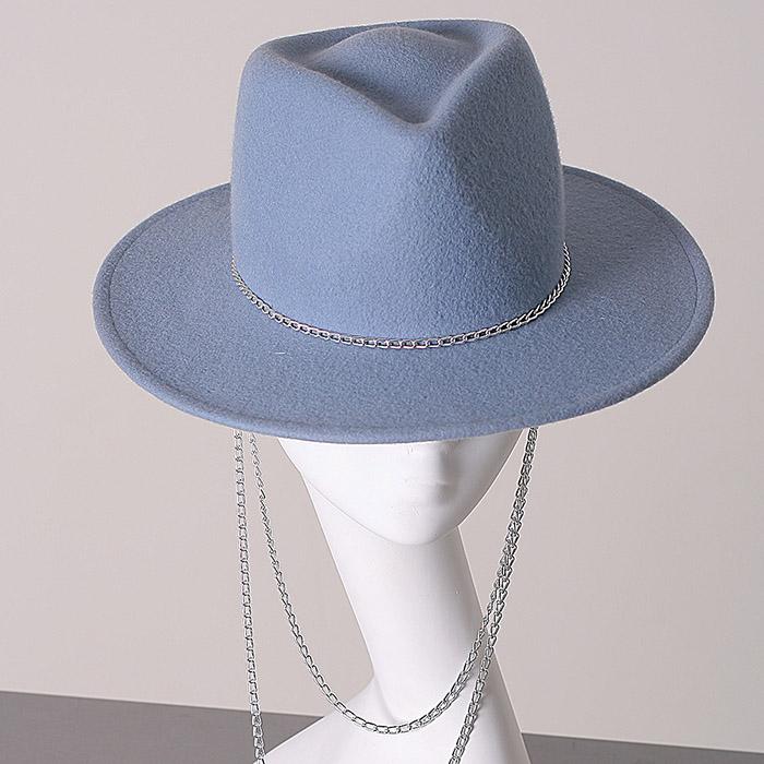 Жіночий фетровий капелюх