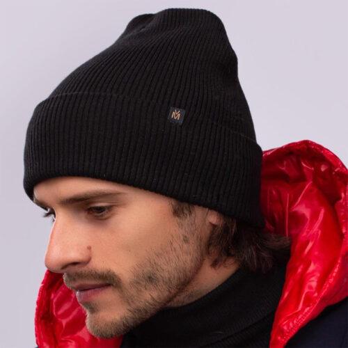 шапка унисекс хлопковая